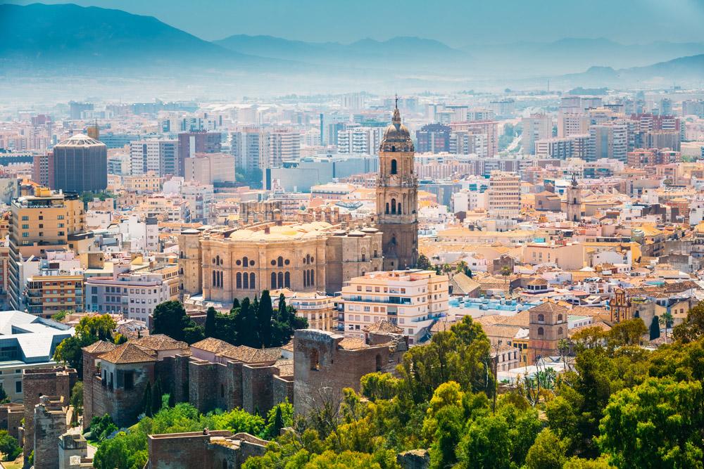 Ruta Alternativa De Terrazas Con Mejores Vistas De Málaga